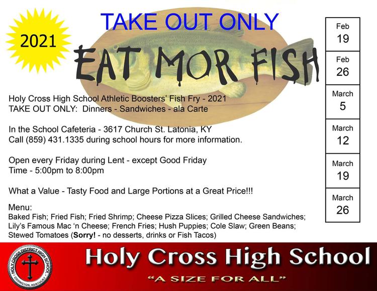 Hc Fish Fry 2021 Flyer