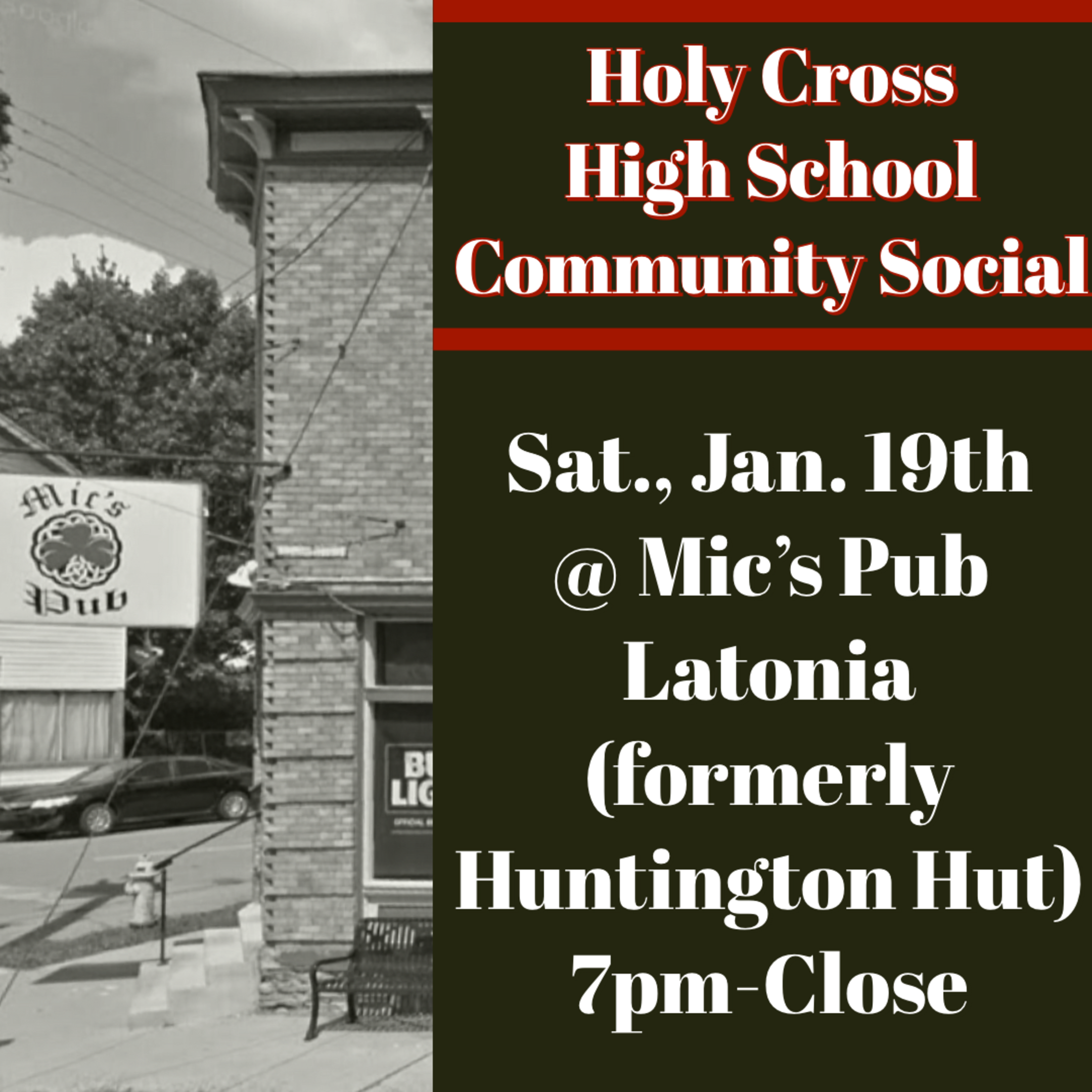 Holy Cross Community Social
